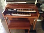 1960 Hammond Tube organ M-3 model w/ bench- project- $ 175.00