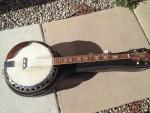 1970's Crestwood 5 string banjo w/ case- $225.00