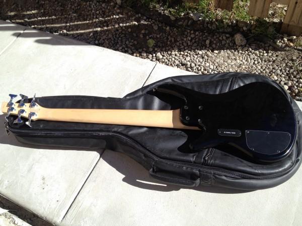 how to fix a broken bass string