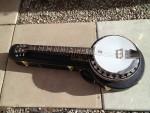 Deering Banjo 6 string Boston model with hardcase- $1500.00