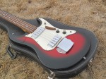 1970's Aria  Bass model 1820  (japan) with case- front full