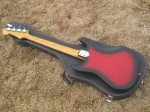 1970's Aria  Bass model 1820  (japan) with case - back side